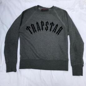 Trapstar grey sweatshirt jumper
