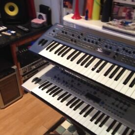 KS4 NOVATION SUPER SOFT TOUCH SYNTHESIZER KEYBOARD CLASSIC MINT CONDITION.