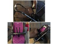 Silver Cross Wayfarer Pram/Pushchair
