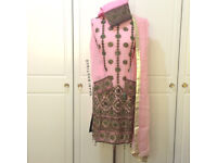 Asian clothing eid ramadhan, readymade embroidery with beads