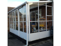 Glass and Aluminium Conservatory