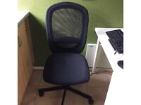 Office chair from IKEA in perfect condition. Lumbar support built in, height adjustable.
