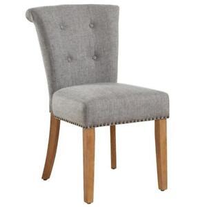 Selma Side Chair in Light Grey (WW89)