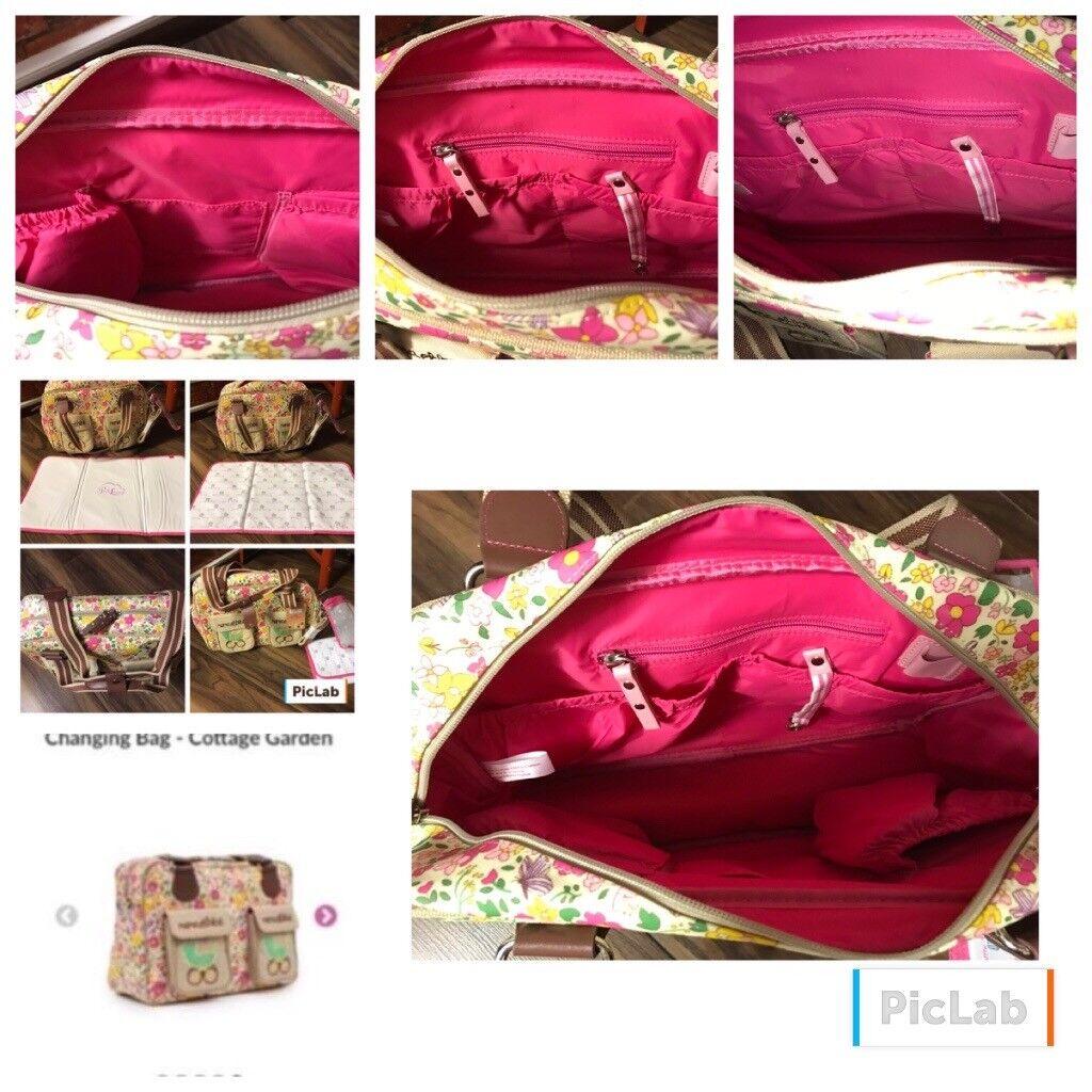 pink lining yummy mummy change bag