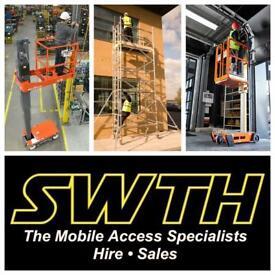 SWTH Access - Scissor Lift & Scaffold Tower Hire in Bristol Bath & Surrounding Areas
