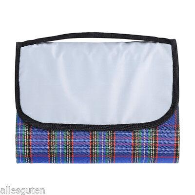 Extra Large Folding Blanket Picnic Rug Mat Camping Outdoor Pet Dog Bag Hamper UK