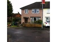 lovely re- furbished 3 bed semi with garden