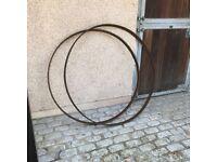 Cart wheel rims