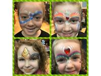 Face painting / painter & Glitter Tattooist