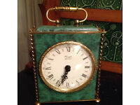 Ornate mantel clock