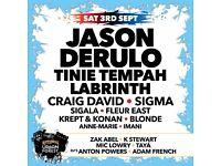 Fusion festival tickets, Saturday