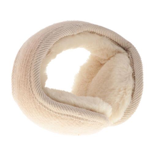 Damen Herren Faltbare Ohrenschützer Plüsch Ohrenwärmer Earmuffs Ear Muffs