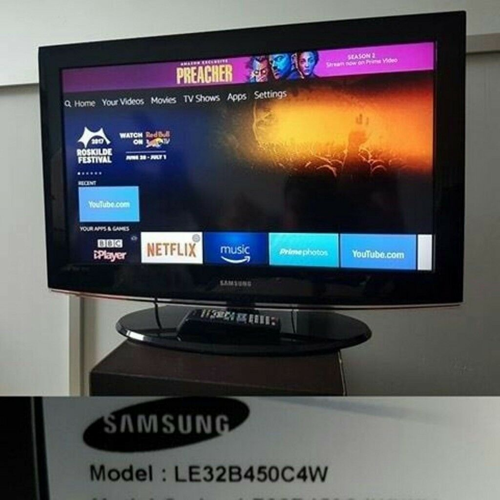 56fe44805a3 Samsung LE32B450C4W   32ince LCD TV  3 hdmi   freeview   comes with remote   cash or swap