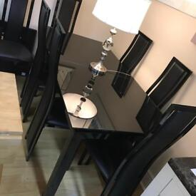 Harvey's Nior 6 chair dining table