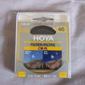 Hoya Slim Circular Polarising Polarizing Polariser CPL C-PL Filter 46mm 46 mm