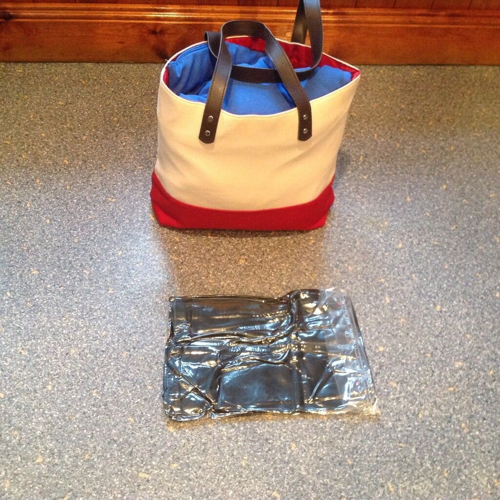 BRAND NEW AND VACUUM SEALED very strong beach or shopping bag etc. BARGAIN PRICE.