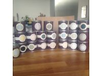 Job lot of sample pots from Farrow and Ball (roughly 20)