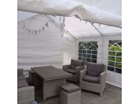 4M x 4M Heavy Duty Marquee - Used Once Only This Weekend for Party