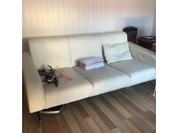 FREE. large 3 seater sofa