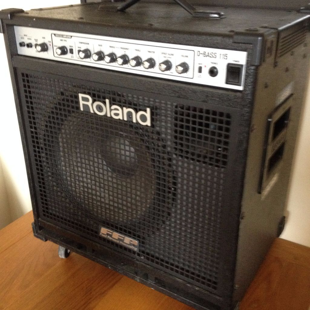 roland d bass 115 amplifier in kilsyth glasgow gumtree. Black Bedroom Furniture Sets. Home Design Ideas