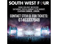 SW4 Weekend Tickets
