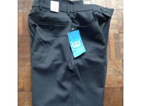 BNWT Mens Next wool trousers in Grey size 30s rrp £29.99