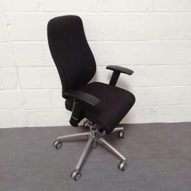 Staples Foroni Task Office Gaming Chair Black Blue In