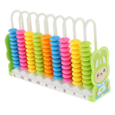 Colorful Counting Frame Math Numbers Counting Beads Abacus Toy for Kids