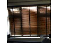 2 next wooden blinds