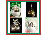 Musical Bauble, Snowman or Choir, New