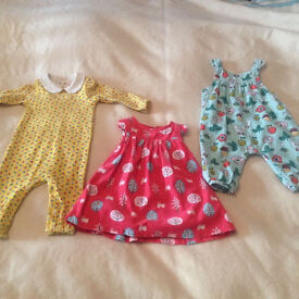 Bundle of John Lewis and Jools Oliver Little Bird girls clothes 3-6 months