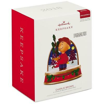 2018 Hallmark A CHARLIE BROWN CHRISTMAS Peanuts Storyteller Ornament ()