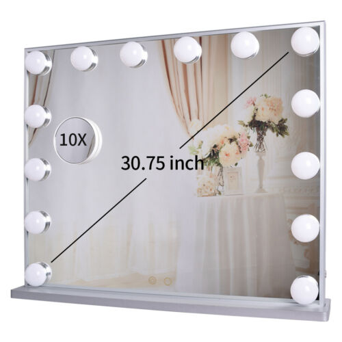 Vanity Mirror with Lights, Tabletop or Wall Mounted Lighted