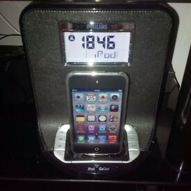 PHILIPS AJ300DB iPod Docking Station with wOOx Technology Speakers