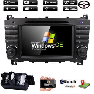 2019 NEU DAB+ DVD Autoradio GPS für Mercedes Benz C-KLASSE CLK W203 W209 VMCD