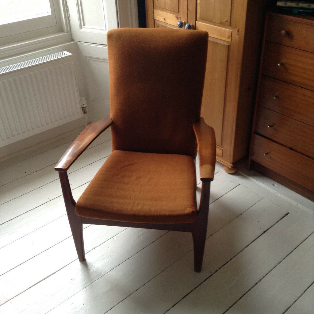 For Sale Vintage Retro Design Mid Century Chair Armchair