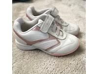 Girls Clarks trainers size 5.5 infant
