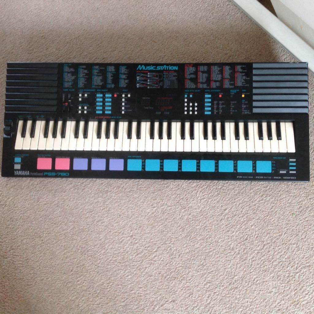 Yamaha keyboard model pss 780 in frimley surrey gumtree for Yamaha piano keyboard models