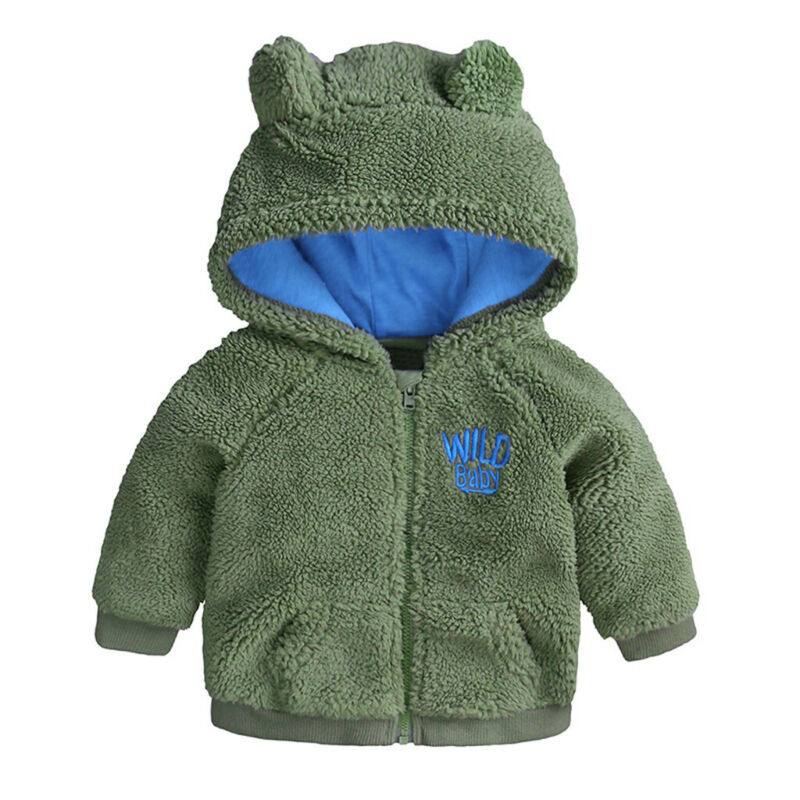 US Baby Boy Warm Thick Clothes