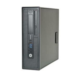 HP EliteDesk 800 G1 SFF - Intel Core i5-4570 (4th Gen) / 8GB / 1TB HDD desktop with store warranty