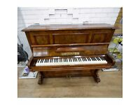 H Matz Burr Walnut Upright Piano By Sherwood Phoenix Pianos Nottingham