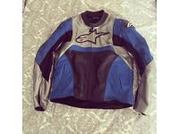 Alpinestars leather jacket EU52