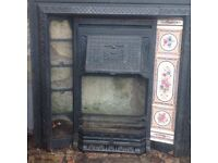 BARGAIN..Stovax Victorian cast iron CONVECTOR Fireplace