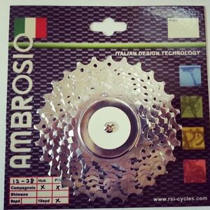 Ambrosio-10-Speed-Road-Racing-Bike-Cassette-Shimano-Or-and-Campagnolo-Compatible