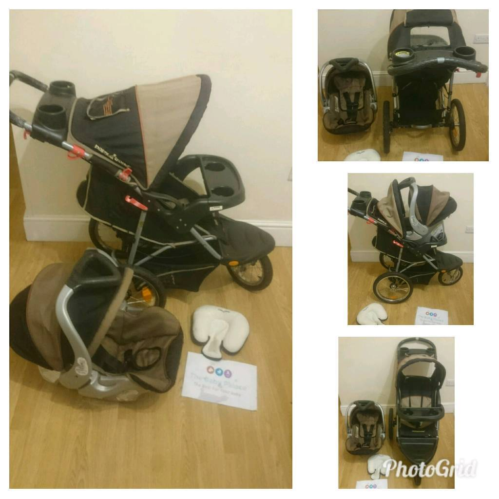 Babystyle (out and about) jogger / offroad buggy with car seat