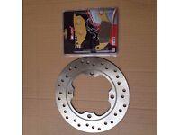 Honda CBR125 2004 - 2010 Rear Brake Disc & Pad Set Kit - 2005 2006 2007 2008