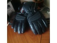 ladies small leather motorcycle gloves new or kids