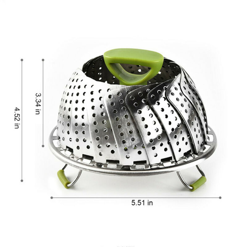 Stainless Expandable Foldable Steam Cooking