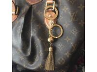 Louis Vuitton bag charm keyring Porte cles swing