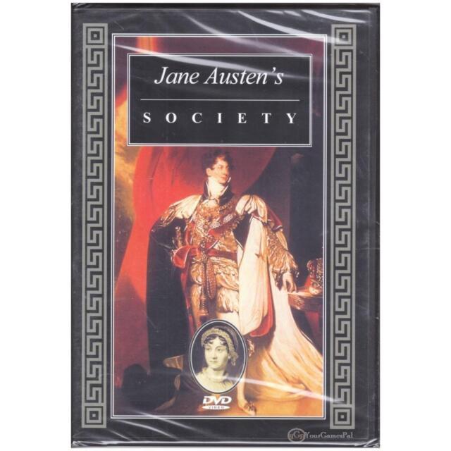 DVD JANE AUSTEN'S SOCIETY Documentary PAL OPEN REGION [BNS]